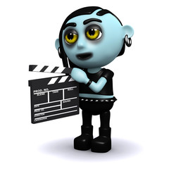 3d Gothic movie maker