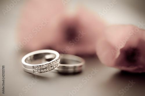 Fototapete Hochzeitlich - Braut - Andere Objekte