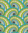 roleta: Spiral seamless pattern