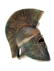 Greek helmet.