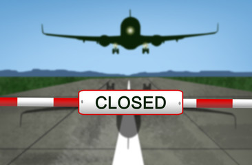 Airport closed