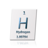 Chemical element Hydrogen poster