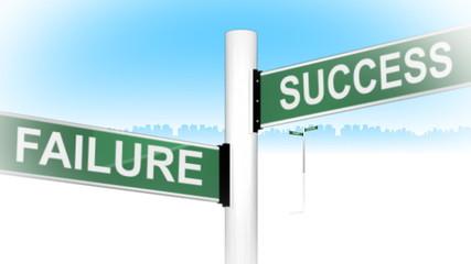 3d crossroads of business words