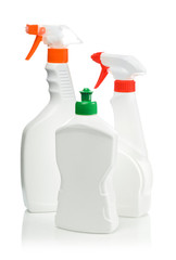 bottle and spray for cleaning