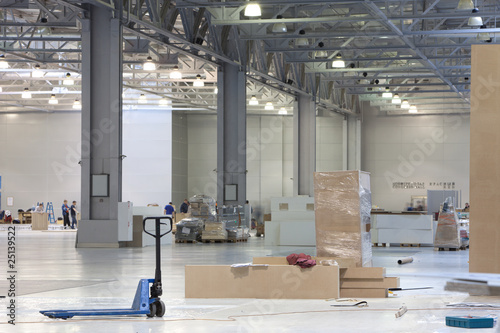 Staande foto Industrial geb. Modern storehouse