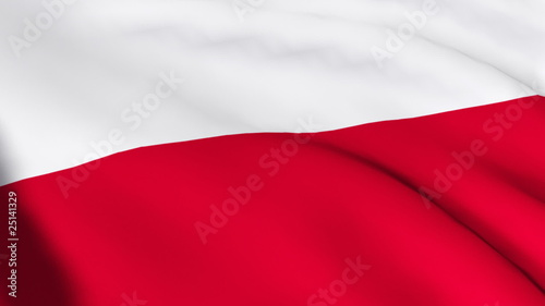 National Flag of Poland
