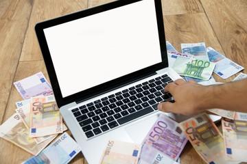 Laptop Onlineshop Geld verdienen