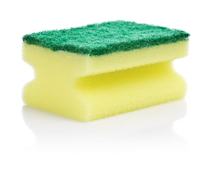 yellow kitchen sponge