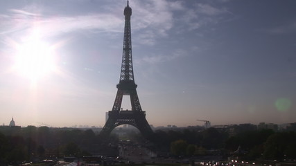 Eiffel tower day-view