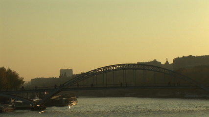 View of a bridge in Paris