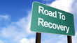 Road to Recovery Signpost in HD
