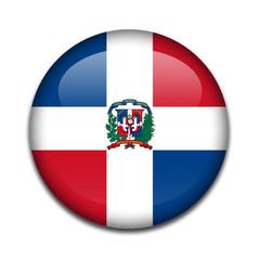 Chapa bandera Republica Dominicana