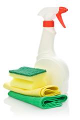 spray bottle with spoage on napkin