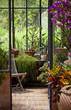 Véranda, jardin, immobilier et détente zen