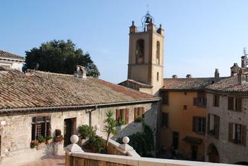 Village provençal vu d'en haut