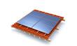 Solar roof module