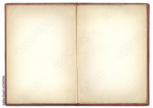Leinwandbild Motiv Offenes Buch