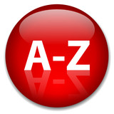 A-Z Web Button (alphabet dictionary index directory find search) poster