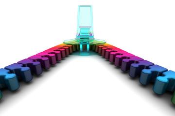 cremallera espectro