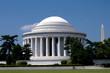 Biking around the Jefferson Memorial