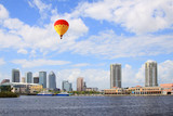 The city skyline of Tampa Florida poster