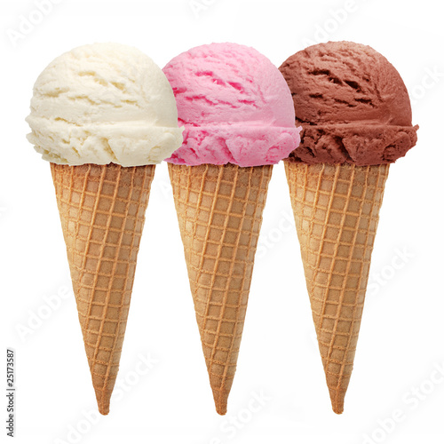 Triple ice cream