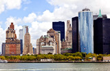 New York City panorama with Manhattan Skyline over Hudson