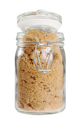 jar of brown sugar