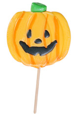 halloween pumpkin lollipop