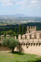 Panorama dal Castello di Gradara