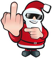 Santa zeigt deutliches Missfallen