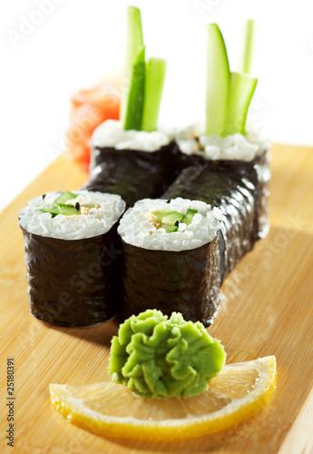 Fototapeta Cucumber Roll