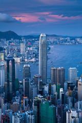 Hongkong Sonnenuntergang
