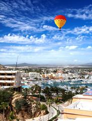Marina and downtown Cabo San Lucas