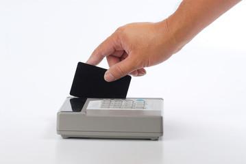 charging credit card