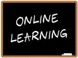 Online learning poster