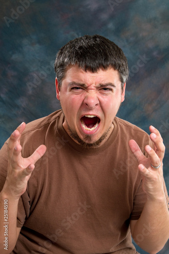 Enraged Man