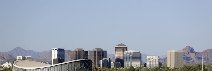 Panorama of Phoenix, AZ