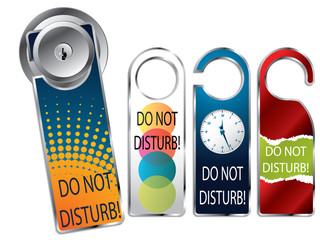 Do not disturb labels