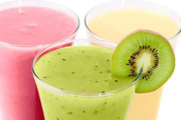Close Up Smoothies