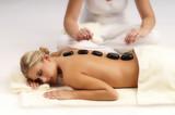 Woman on massage