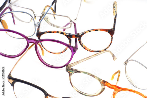 Leinwandbild Motiv brille #9