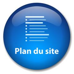 Bouton Web PLAN DU SITE (web internet catégories recherche blog)