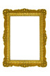 Golden frame