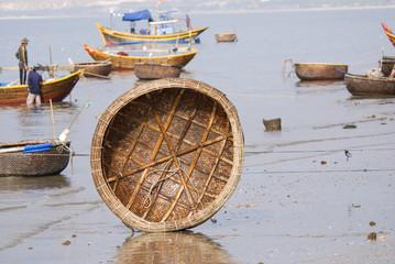 Vietnamese fisherman's boat