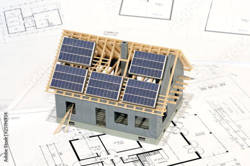 Projet de maison à energie positive. - 25196934