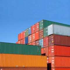 Containers sur les docks