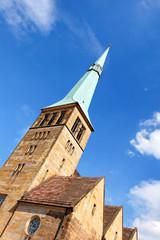 Marktkirche St. Nikolai in Hameln, Deutschland