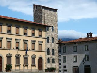 Pistoia - Piazza Duomo and Torre di Catelina