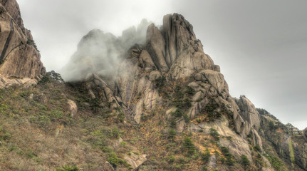 mount huangshan yellow mountain china
